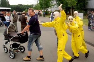 Walking Act   Dummies   Blickfang für Autohäuser   Caracho Event Theater