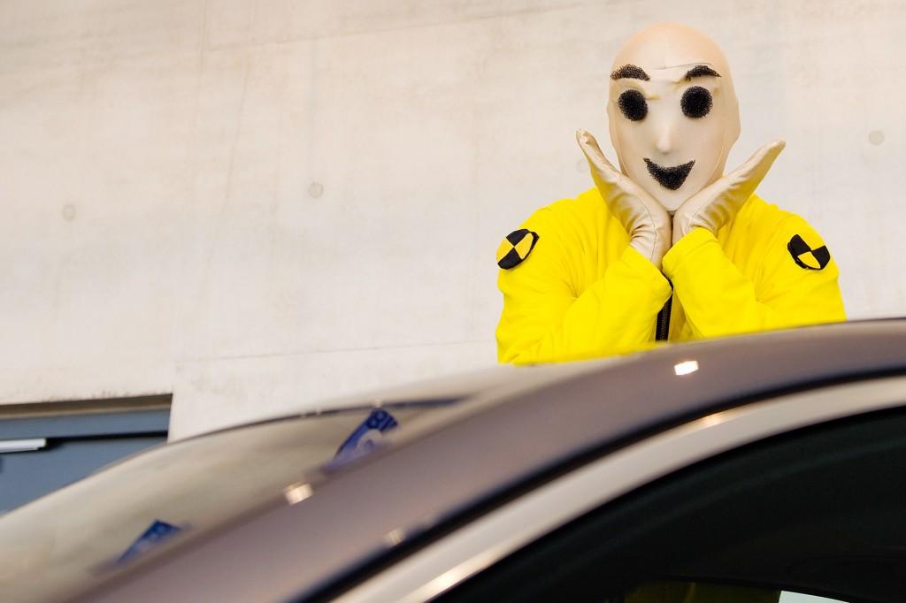 Beliebter Walking Act für Autohäuser -  die Crashtest Dummies   Caracho Event-Theater