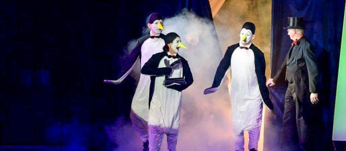 Pinguine bei der Sportlergala Emsdetten – Januar 2015