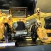 Smarties und Crashtestdummies auf dem Zirkusfestival der Autostadt
