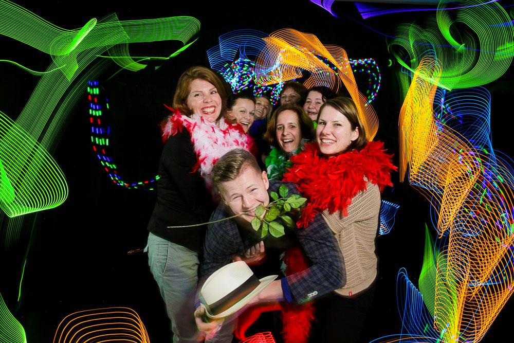 Lichtmalerei Blackbox Entertainment Gäste